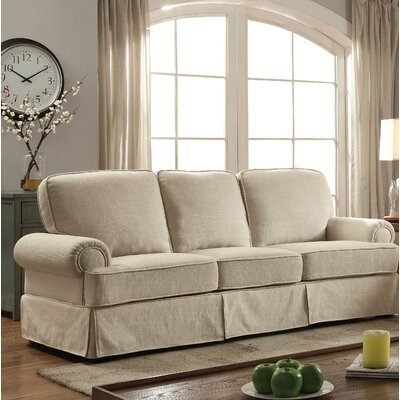 Winkleman Transitional Sofa Upholstery: Beige