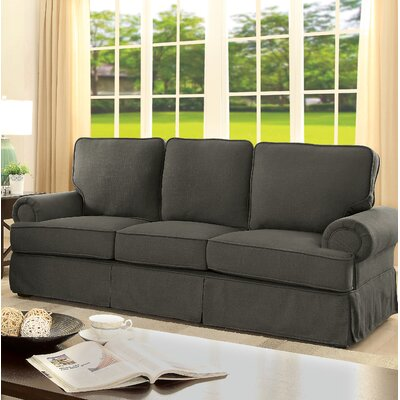 Winkleman Transitional Sofa Upholstery: Gray