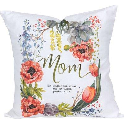 Dunbar Grace Laced Mom Throw Pillow