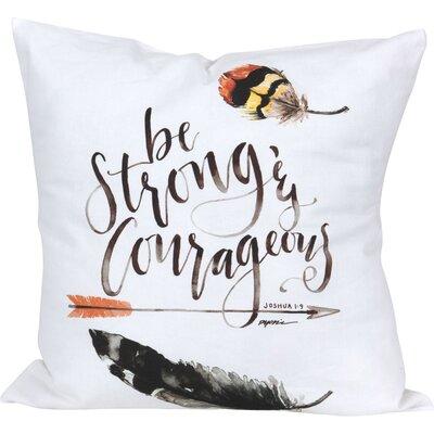 Dundonald Grace Laced Be Strong Throw Pillow