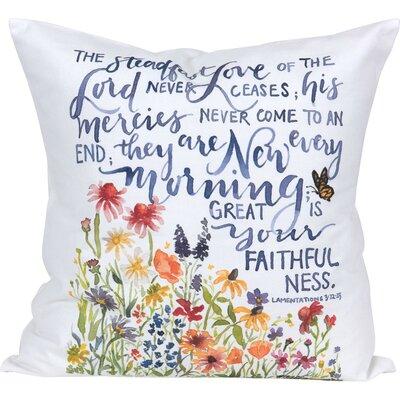 Dundressan Grace Laced Steadfast Love Throw Pillow