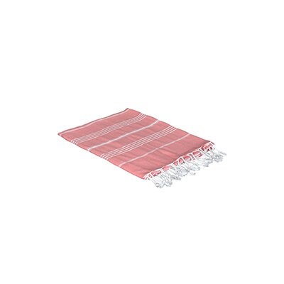 Turkish Beach Towel Color: Coral