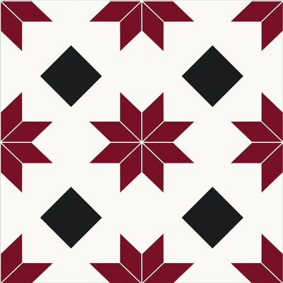Orion Peel & Stick 12 x 12 Tile in Red