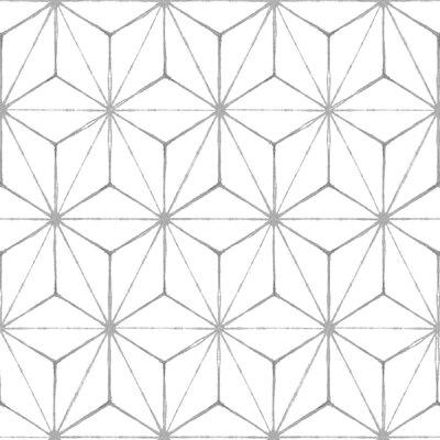 Kikko Peel & Stick 12 x 12 Tile in White