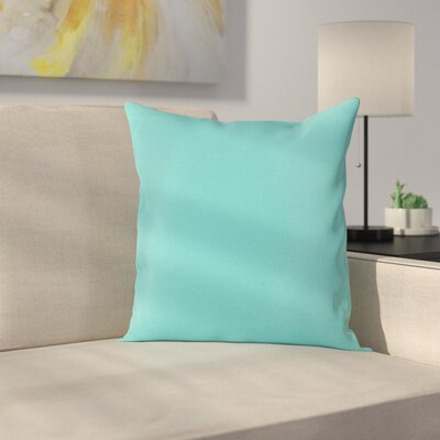 Ryele Outdoor Throw Pillow Color: Turquoise