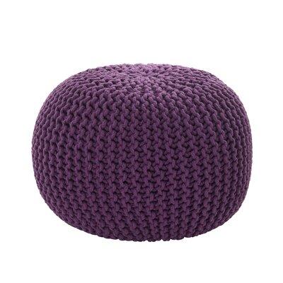 Bonelli Pouf Upholstery: Purple