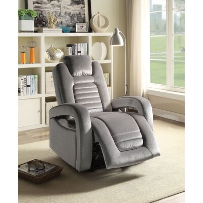 Lanza USB Power Dock Power Recliner Upholstery: Sliver