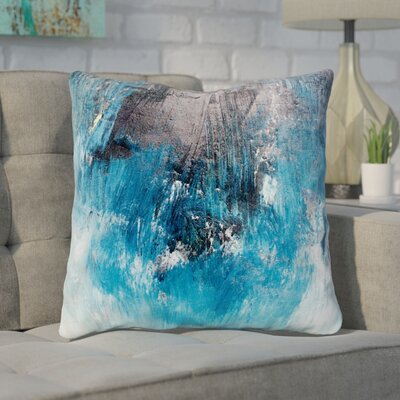 Paz Ocean Oil Painting Throw Pillow