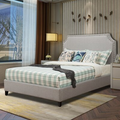 Faucette Upholstery Platform Bed Size: Queen