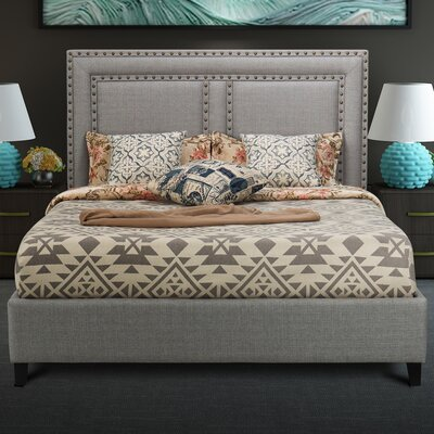 Ostrander Upholstery Platform Bed Size: Queen