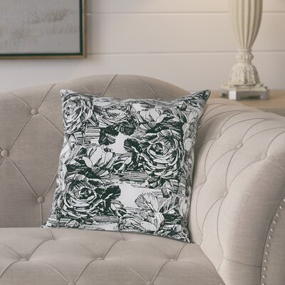 Keeso Cotton Pillow Cover Color: Dark Gray