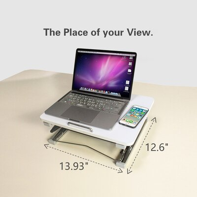 Keese 14 Height Adjustable Computer Table with Mouse Pad