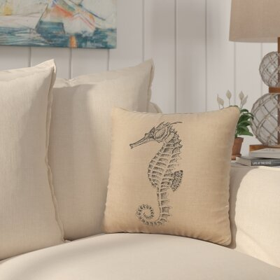 Plamond Throw Pillow Color: Natural