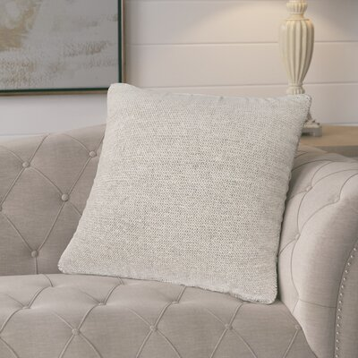 Drage Solid Throw Pillow Fill Material: Down/Feather
