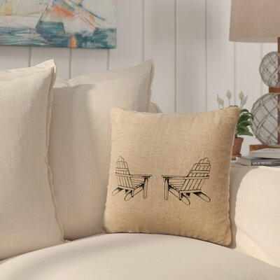 Bingaman Throw Pillow Color: Natural