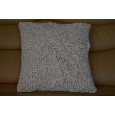 Fenster Lurex Tie Cotton Throw Pillow