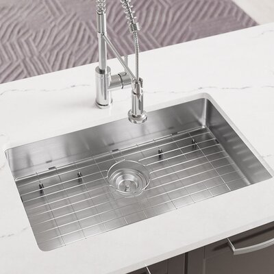 Stainless Steel 28 x 18 Undermount Kitchen Sink