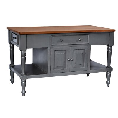 Brookstonval Kitchen Island
