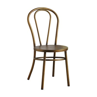 Gael Dining Chair Finish: Antique Copper