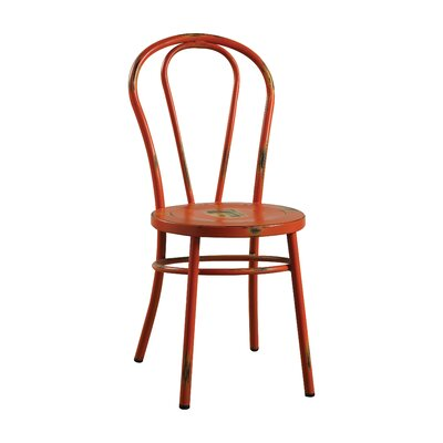Gael Dining Chair Finish: Antique Orange