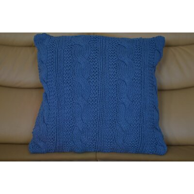 Fendley Faded Zigzag Cotton Throw Pillow