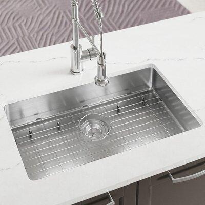 Stainless Steel 29 x 18 Undermount Kitchen Sink with Additional Accessories