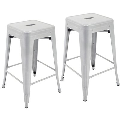 Northwick 24 Bar Stool Color: Silver