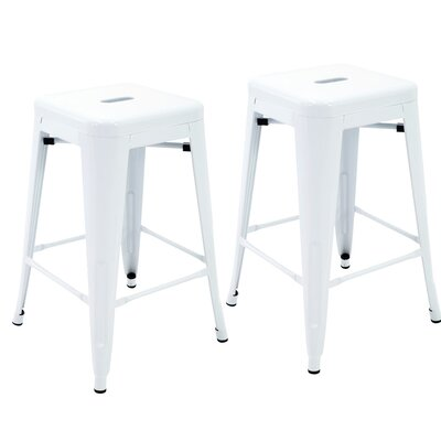 Northwick 24 Bar Stool Color: White