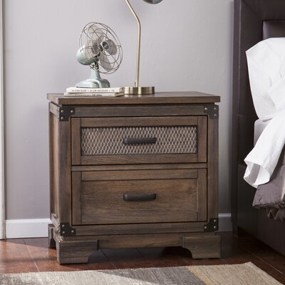 Villacorta 2 Drawer Nightstand