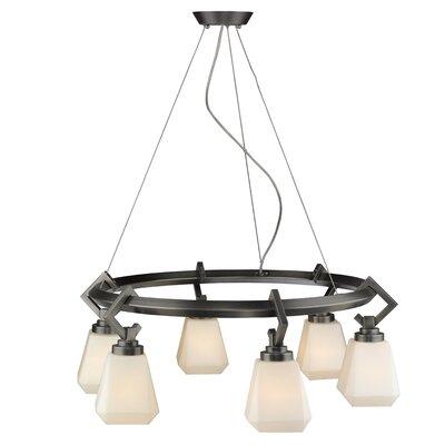 Etonbury 6-Light Candle Style Chandelier