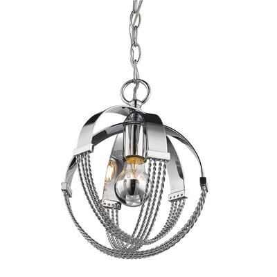 Branscome 1-Light Globe Pendant