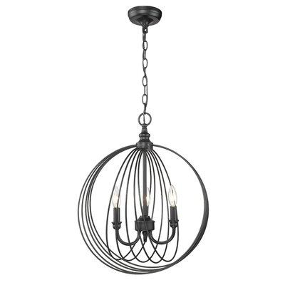 Vecchio 3-Light Globe Pendant