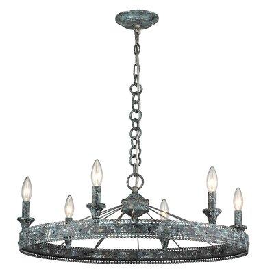 Mummert 6-Light Candle Style Chandelier