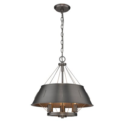 Didomenico 3-Light Drum Pendant