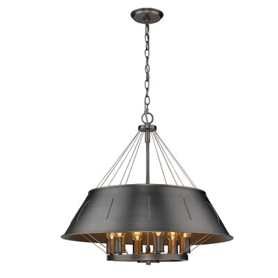 Didomenico 6-Light Drum Pendant