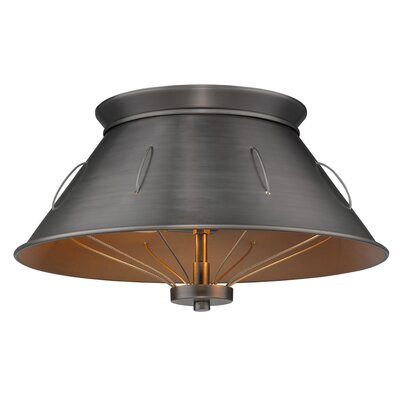 Didomenico 2-Light Flush Mount