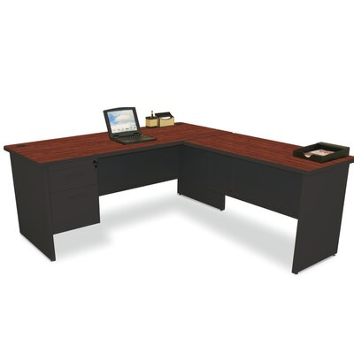 L Shape Executive Desk Hutch Top Frame Product Picture 4987