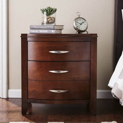 Cuddy 2 Drawer Nightstand Color: Burnt Cinnamon