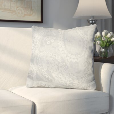 Conlin Vintage Paisley Throw Pillow