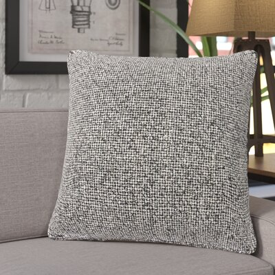Duena Textured Silk Throw Pillow Fill Material: Down/Feather