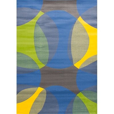 Leeper Blue Area Rug