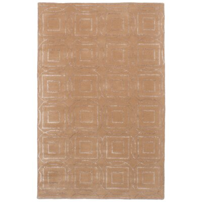 Griffing Hand-Tufted Brown Area Rug