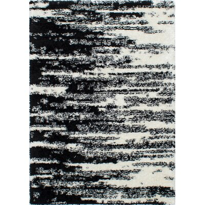 Decarlo Black/Cream Area Rug