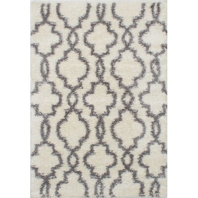 Hedley Cream/Dark Gray Area Rug
