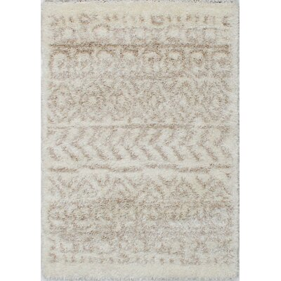 Corbin Cream Area Rug Rug Size: Rectangle 310 x 57