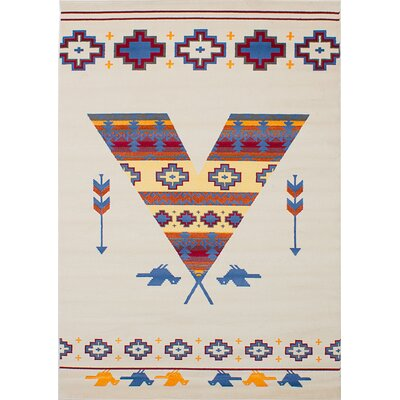 Lozier Cream Area Rug