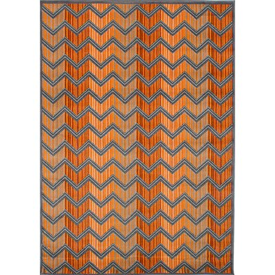 Griffeth Orange Area Rug