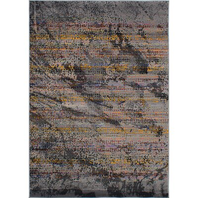 Duchene Dark Gray Area Rug