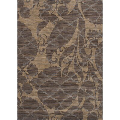 Demetrius Dark Brown Area Rug