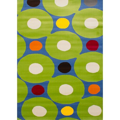 Leeper Light Green Area Rug